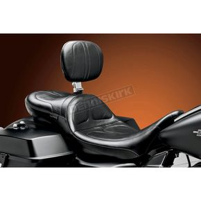 LePera Stitched Maverick Daddy Long Legs Seat w/ Driver Backrest - LK-957DLBR