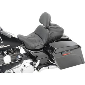 Saddlemen Low Profile Explorer G-Tech Seat w/Driver Backrest - 808-07B-03012