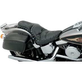 Drag Specialties Studded Pillow Chopped One Piece Solo Seat - 0802-0721