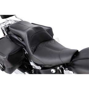 Danny Gray Black Leather LowIST 2-Up Seat - FA-DGE-0292