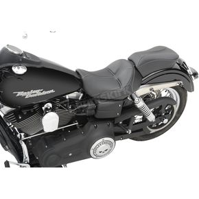 Saddlemen SaddleHyde GC-Style Dominator Solo Seat w/ Backrest Option - 806-040-042
