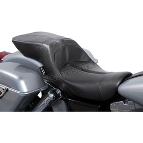 Danny Gray Black Leather TourIST 2-Up Seat - FA-DGE-0311
