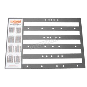 Woodys Universal Studding Templates - COMB-TEMP-P