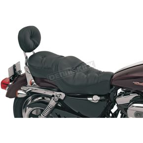 Drag Specialties Wide Low-Profile Pillow Seat - 0804-0297