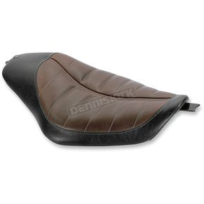 Roland Sands Design Bob Job Enzo Brown Solo Seat - 76931