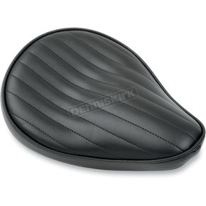 LePera Pleated Solo Seat for Custom and Rigid Shovelhead Applications - L-100-RN