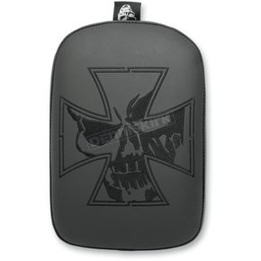 Blitzkrieg Inc. Crossbones and Skull Phantom Pillion Pad - SE303VICSB