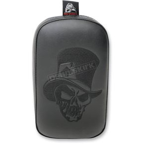 Blitzkrieg Inc. T-Hat Skull w/Phantom Gel Ghoul Pillion Pad - SE303VTHSB