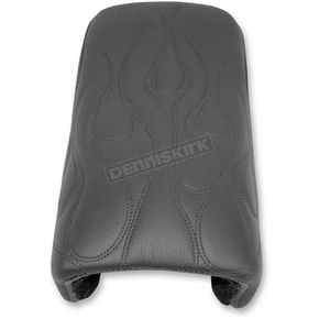 Danny Gray Standard Flame Stitched Pillion Pad - YMC-217P2-01F