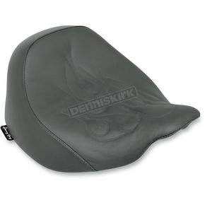 Danny Gray Flame Stitched Buttcrack Solo Seat - YMC-103-01F