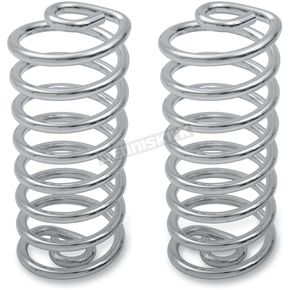 Drag Specialties 5 in. High Chrome Seat Springs - 0820-0029