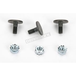 Sno-Stuff Flat Head Bolts with Lock Nuts - 620-250