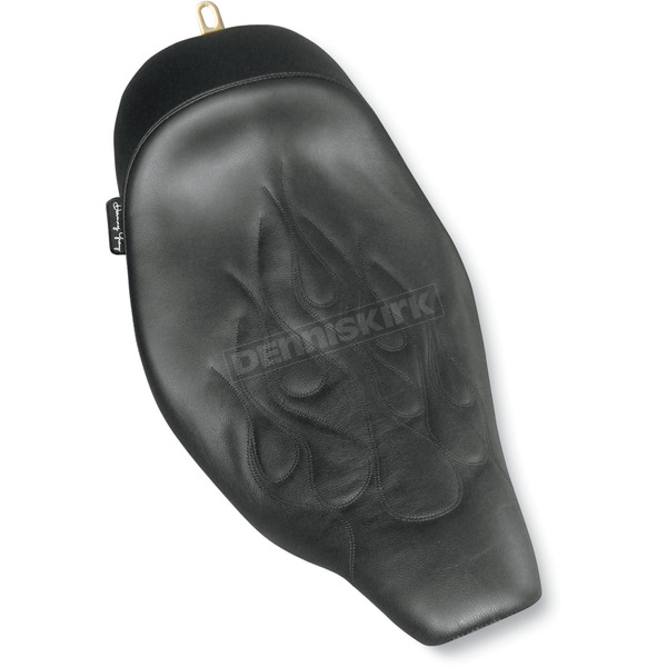 Danny Gray 14 in. Wide Flame Buttcrack Solo Seat - 20-803F