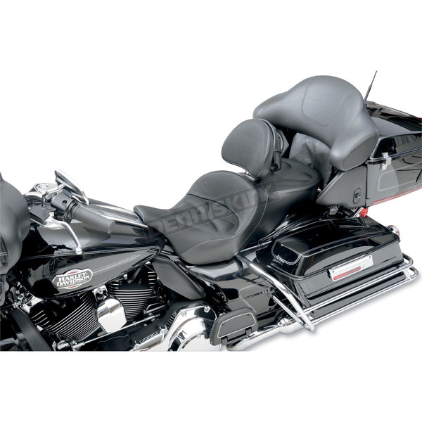 Saddlemen Explorer G-Tech Seat w/Driver Backrest - 897-07-03011