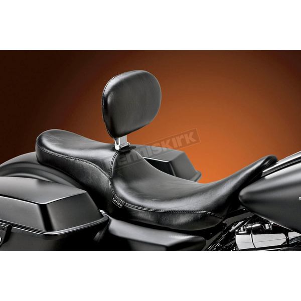 LePera Smooth 2-Up Full-Length Silhouette Seat w/Driver Backrest               - LK-847BR