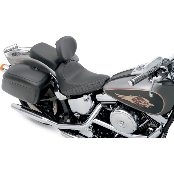 Drag Specialties Smooth Stitch Solo Seat - 0802-0618