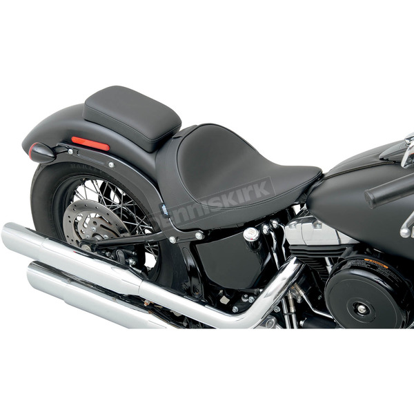 Drag Specialties Smooth Solo Seat w/Optional EZ Glide Backrest System - 0802-0784