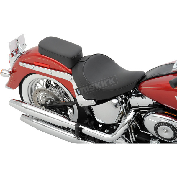 Drag Specialties Smooth Solo Seat w/Optional EZ Glide Backrest System - 0802-0806