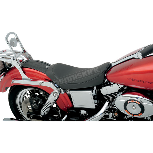Drag Specialties Smooth Low Solo Seat - 0803-0407