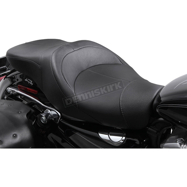 Danny Gray Black Leather TourIST 2-Up Seat - FA-DGE-0314