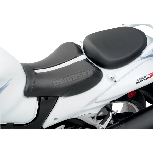 Saddlemen Track One-Piece Solo Seat with Rear Cover - 0810-0822