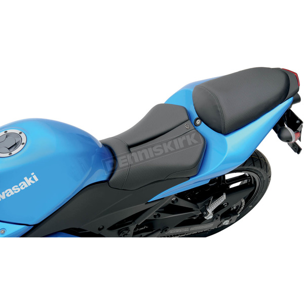 Saddlemen Track-CF One-Piece Solo Seat with Rear Cover - 0810-K026