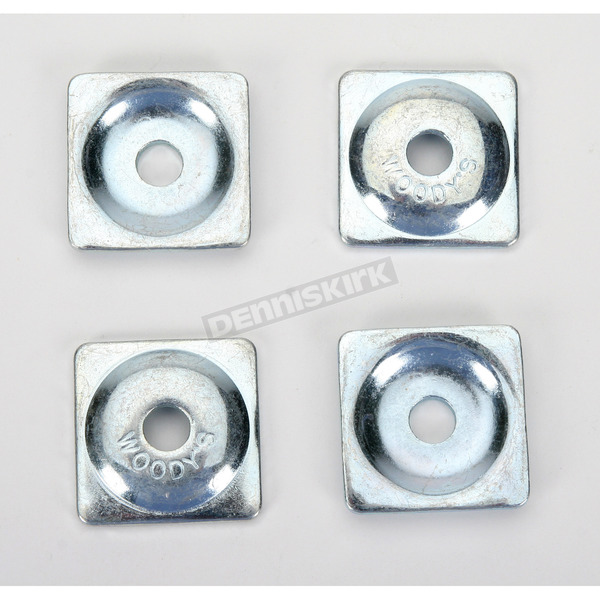 Woodys Square Steel Backer Plates for 7mm Studs - AWS3650B
