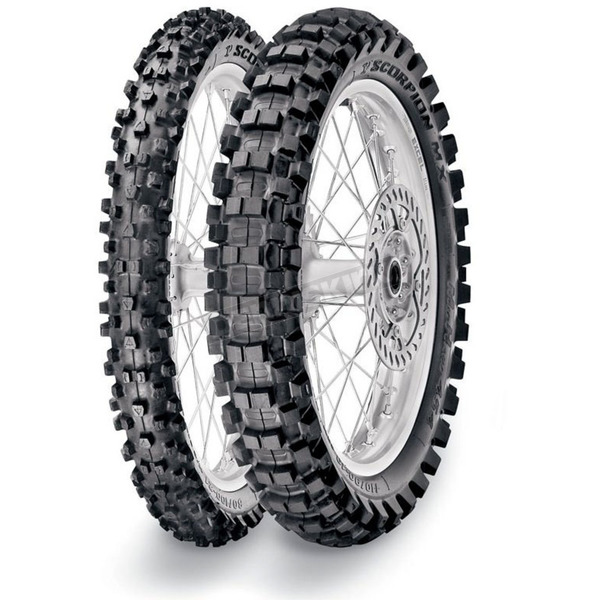 Pirelli Scorpion MX Mid Hard 554 Tire
