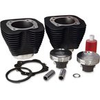 Black 114 in. Monster Big Bore Kit - 201-124W