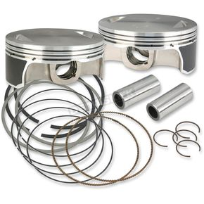 S&S Cycle Replacement Piston Kit for 111 in./117 in./124 in. Motor - 106-3491A