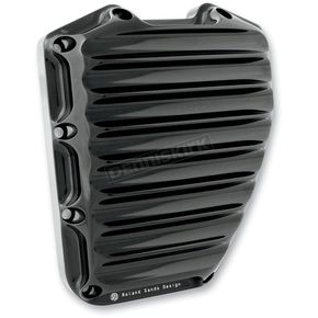 Roland Sands Design Black Anodized Nostalgia Cam Cover - 0177-2001-B