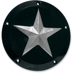 NYC Choppers Nautical Star Derby Cover - 5-Hole - NYC69TCNSBLK