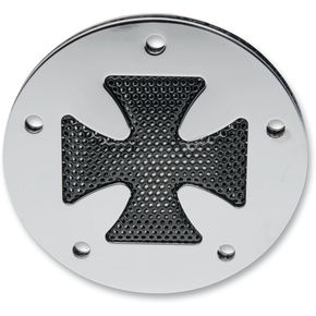 Parts Unlimited Chrome Cross Accent Style Point Cover - 09400951