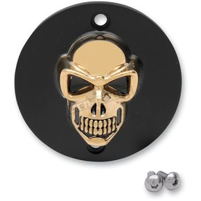 Drag Specialties 3-D Skull Points Cover - 09401-091