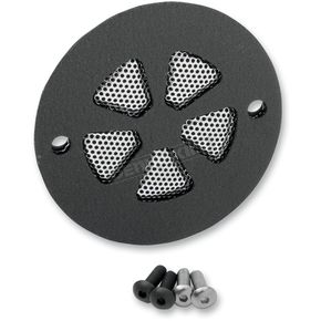 Drag Specialties Black 5-Spoke Slot Points Cover - 0940-1092