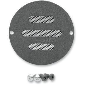 Drag Specialties Black 2-Hole Slot Points Cover - 0940-1096