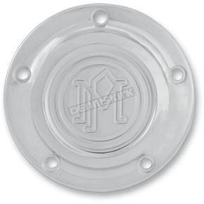 Performance Machine Chrome 5-Bolt Scalloped Points Cover - 0177-2029-CH