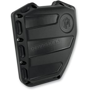 Performance Machine Black Ops Scalloped Cam Cover - 0177-2020-SMB
