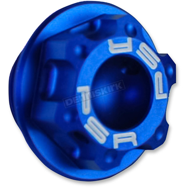 Powerstands Racing Blue Magnetic Oil Drain Plug - 00-01949-25