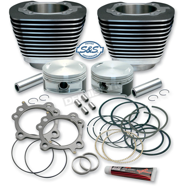 S&S Cycle 3 7/8 in. Cylinder/Piston Kit for S&S 106 in. Stroker only - 910-0203
