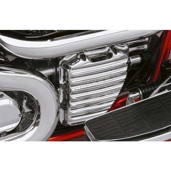 Roland Sands Design Chrome Nostalgia Cam Cover - 0177-2001-CH