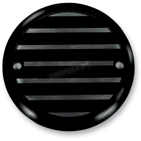 Joker Machine Black 2 Hole Finned Designed Point Cover - 02-98TC