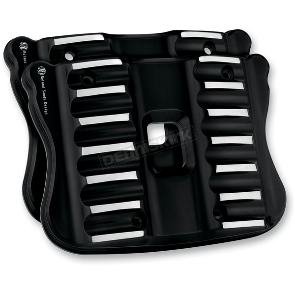 Roland Sands Design Contrast Cut RSD Nostalgia Rocker Box Cover for Sportster - 0177-2023-BH