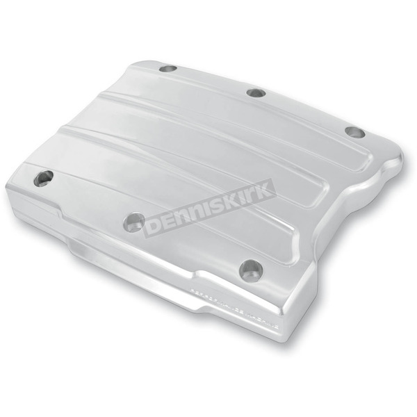 Performance Machine Chrome Scalloped Rocker Box Cover - 0177-2021-CH