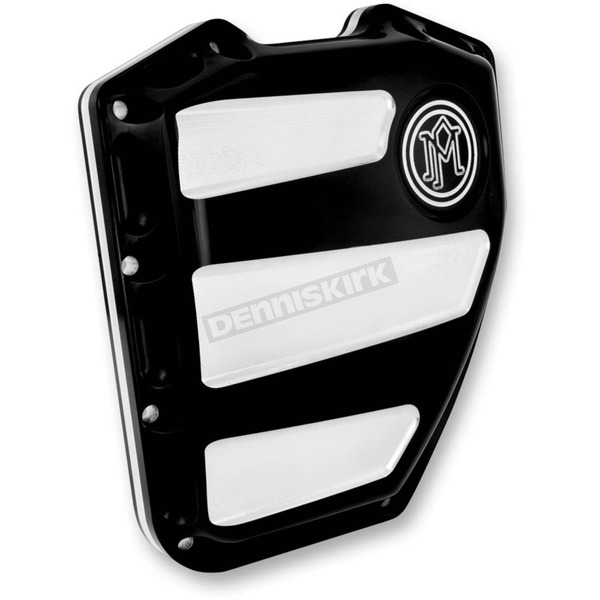 Performance Machine Contrast Cut Scalloped Cam Cover - 0177-2020-BM