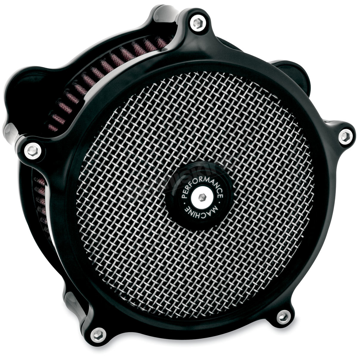Harley Davidson Performance Air Cleaner : Performance machine black super gas air cleaner