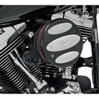 Raw Black Scalloped Stage 2 Big Sucker Performance Air Cleaner Kit - 18-848