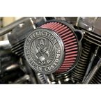 Black Affliction Air Cleaner - LA-2990-00B
