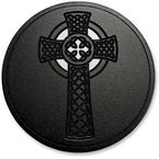 Black Celtic Cross Air Cleaner Assembly - LA-2397-01B