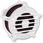 Chrome RSD Nostalgia Venturi Air Cleaner - 0206-2071-CH